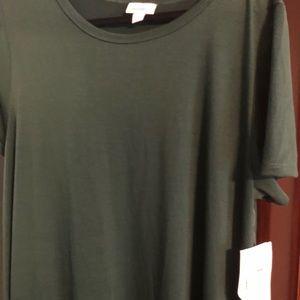 LuLaRoe Dresses - New Dark green pocketless LuLaRoe Carly in Xl